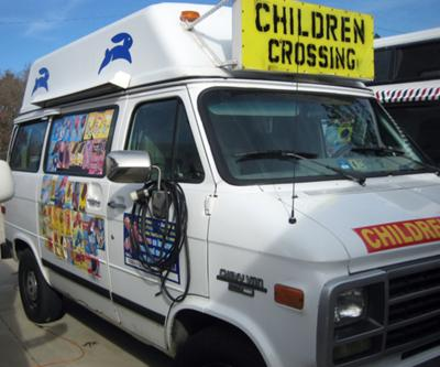 CHEV. ICE CREAM VAN