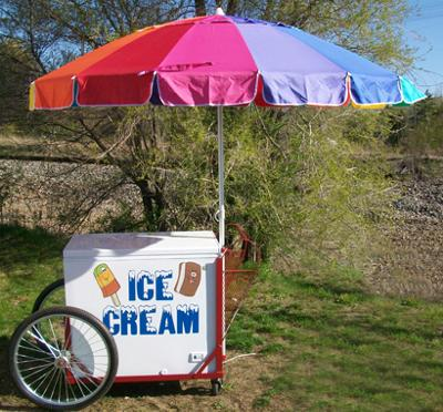 2012 Event Decor Ice Cream Cart w/Umbrella - $995.00 - Detroit Metro ...