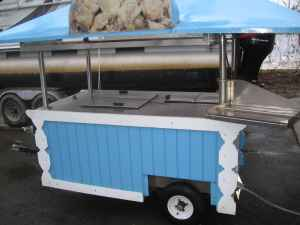 Towable Italian Ice Cart
