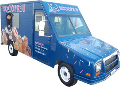 Scoops2u Ice Cream Truck